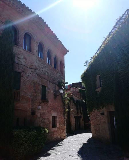 Peratallada Pueblo Medieval Medieval Architecture Medieval Village Catalunya Catalonia