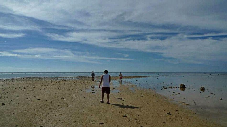 Low tide. Beach Summer Enjoying The Sun Eyeem Philippines
