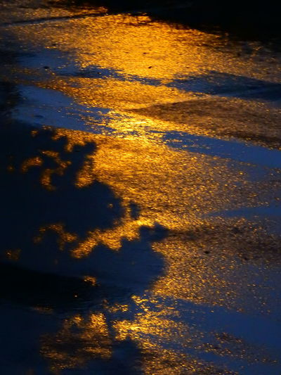 Background Check This Out Light Reflection Nature Night Night Colors Night Colours No People Parking Rainy Night Reflection Rippled Taking Photos Town Tranquility Water Water Reflections