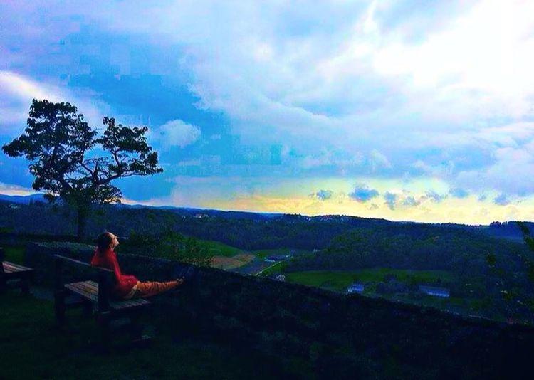 MyMan Favourite Love Landscape Nature Skylover Cloudsplay Colours Chillisimo #cloud Obsession