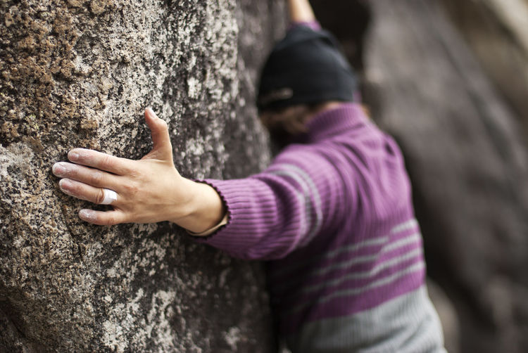 Climber Climbers Climbing Climbing In Winter Dark Outdoors Effort Extreme Sports Fingers Tape Granite Hand Hard Time Outdoor Sports Rock Climbing Rock Climbing Area Tape
