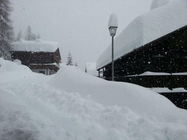 Heavy snow Sauris