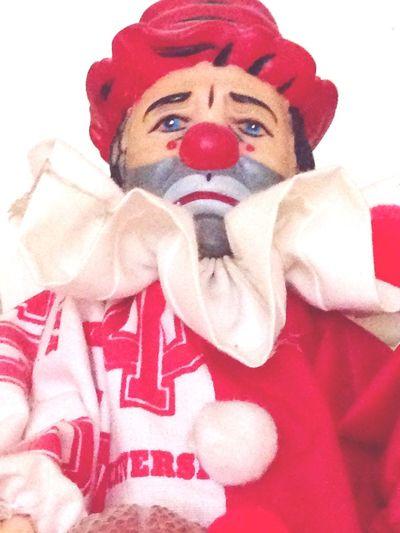 Old Old Clown IU Clown Indiana University, United States Collectable Clown Indiana University