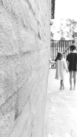 Long Goodbye Full Length Childhood Rear View Walking Child Girls Outdoors Standing People Day Building Exterior Children Only Architecture Adult Goodbye Goodbyes Are Never Easy