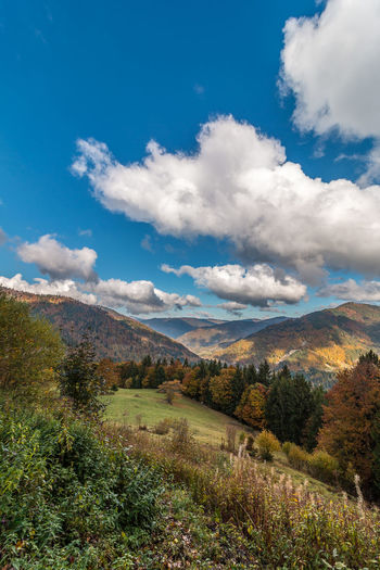 Beauty In Nature Cloud Cloud - Sky Cloudscape Cloudy Dramatic Sky Idyllic Landscape Mountain Sky