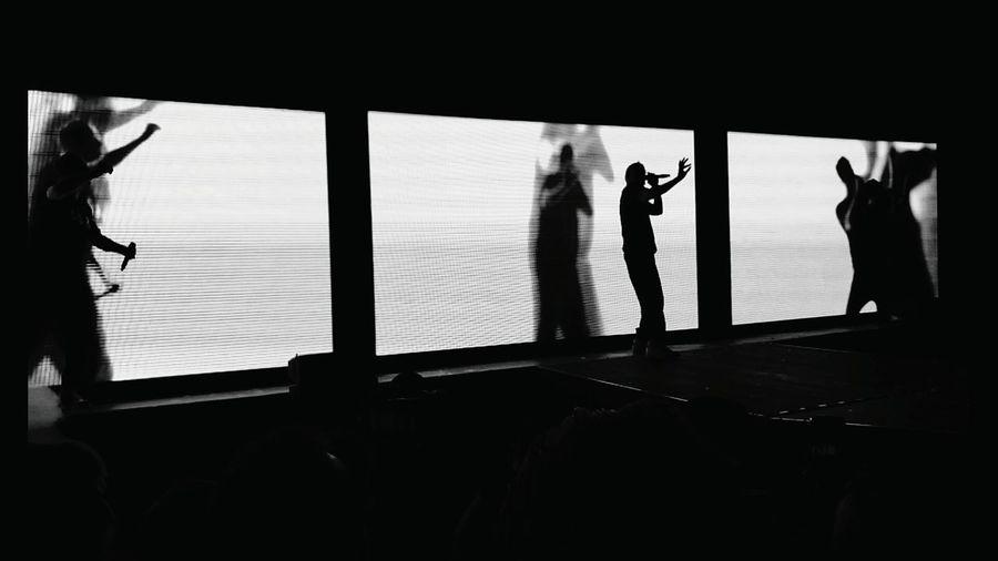 Indoors  Silhouette Day 24.01.2017 Vienna Fanta4 Diefantastischenvier Diefantastischenvier_official Stadthalle Vierundjetzttour Smudo Michibeck Thomasd Troy Mfg