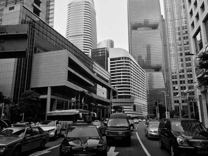 廣州 珠江新城 塞車 我喜歡