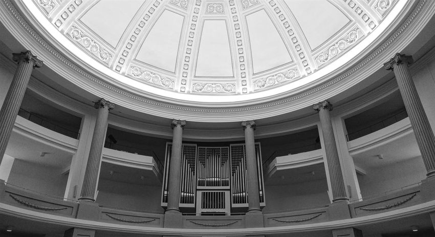 Architecture Indoors  Built Structure No People Day AndroidPhotography LGG5 Android Architecture Blackandwhite Monochrome Photography My Bw Obsession Streamzoofamily Monochrome Church Church Architecture Oldenburg