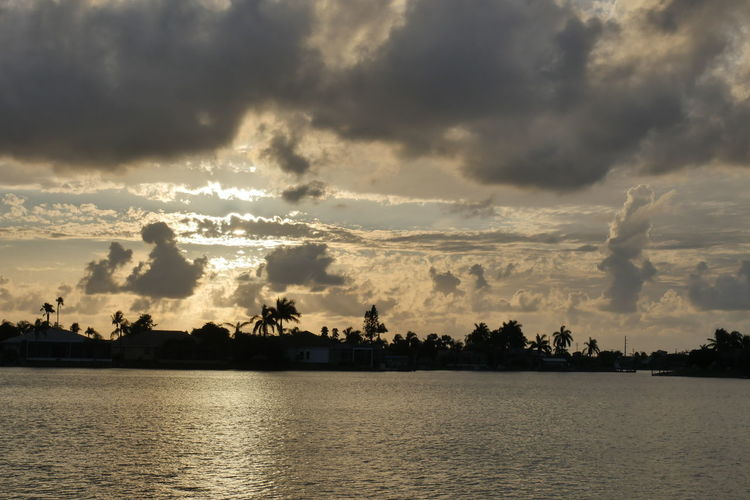 Sonnenuntergang Cloud - Sky Sky Beauty In Nature Sunset Scenics - Nature Water Waterfront