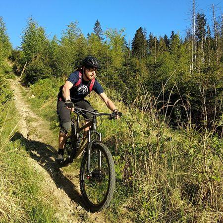 entering the weekend like Endurobike Trek Mountain Bike Mountain Bike Men Athlete Sport Bicycle Biker