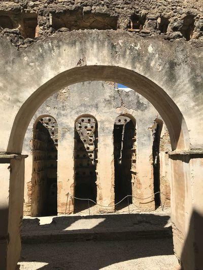 Palomar de la Breña Architecture Arch Built Structure Sunlight Day No People Nature