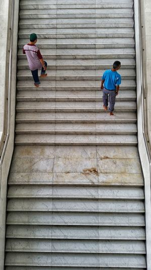 Two People Full Length Real People Steps Steps And Staircases Day Walking Men Outdoors Only Men Adult Adults Only People Togetherness Working Architecture City Moving Forward  Moving Up Move On Dont Look Back EyeEmNewHere