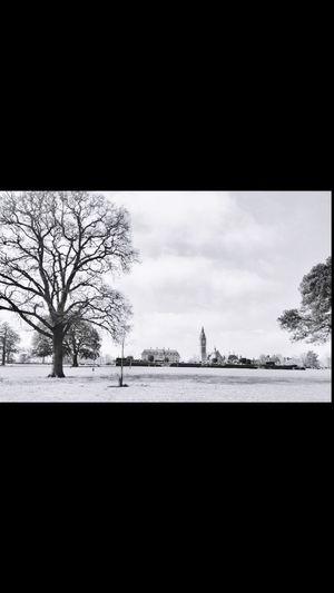 Blackandwhite Gardens Duke Of Westminster Eaton Hall Clock Tower Clouds And Sky EyeEm Best Shots - Black + White