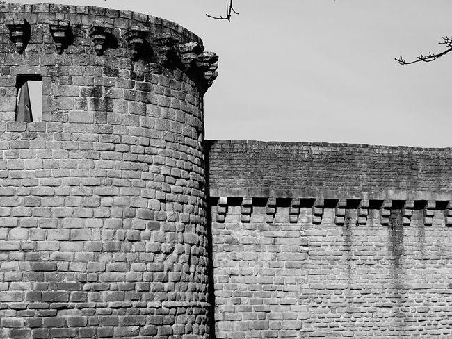 Hors d'age, Guérande. Château, Castle, Wall, Middle Age