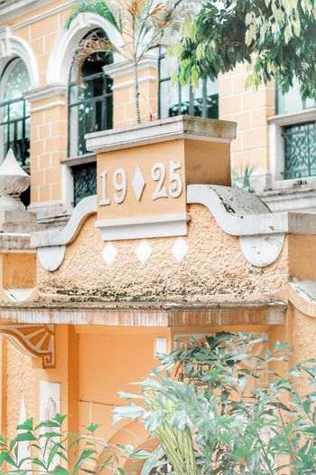 Architecture Building Exterior Text Built Structure Day Communication No People Nature Graffiti Building Wall Sign Window Wall - Building Feature Brick Plant Western Script Outdoors City Growth