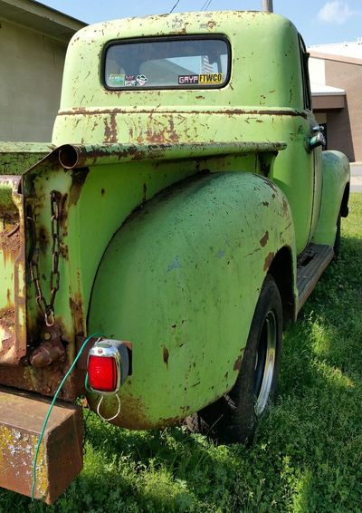 More gratitude to the folks at Dum Designs! Restoration In Progress Old Truck Extreme Angles Enjoying Life Art On Wheels