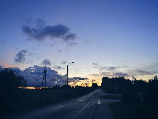 Night Sky No People Cloud - Sky Naturelovers Poland 💗 Sky Only Morning Sky Beautiful Colors Cold Temperature Nice