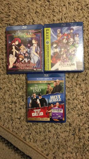 Anime Date A Live DATEALIVE MOVIE Shaunofthedead Shaun Of The Dead HotFuzz HOT FUZZ