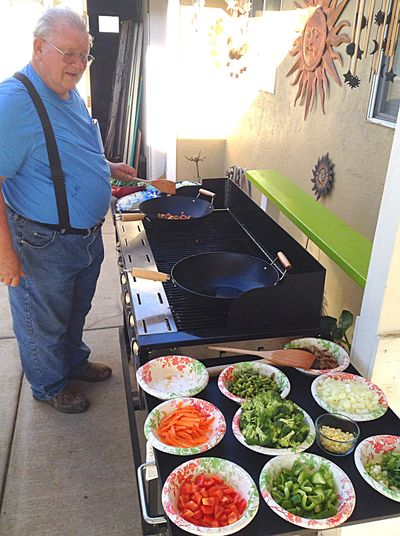 RePicture Masculinity My Father Being Chef  Philippine Food Smells SO Good Healthy Food Grandpa Style Amazing Food Cooking With Love