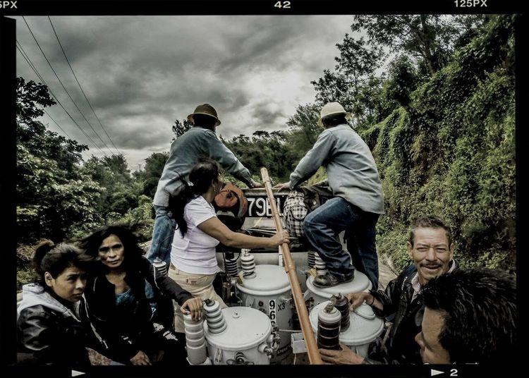 Guatemala pickup truck riding Gopro HDR Travel Photography