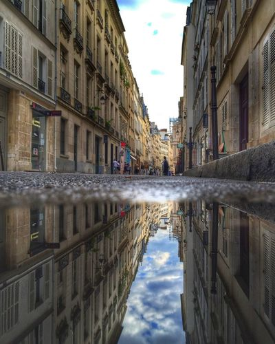Paris Le Marais Streetphotography Reflection Perspectives
