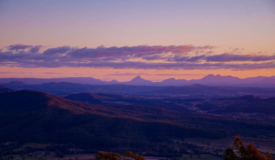 Tamborine Mountain Sunset Sunset Sunsets Dusk Photography Queensland