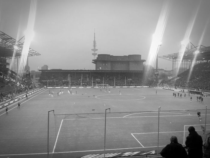 St. Pauli vs. Greuter Fürth! It was awesome. Hanging Out Hello World Monochrome Soccer