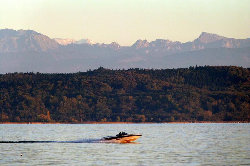 La Suisse Lac Magnifique Bateau