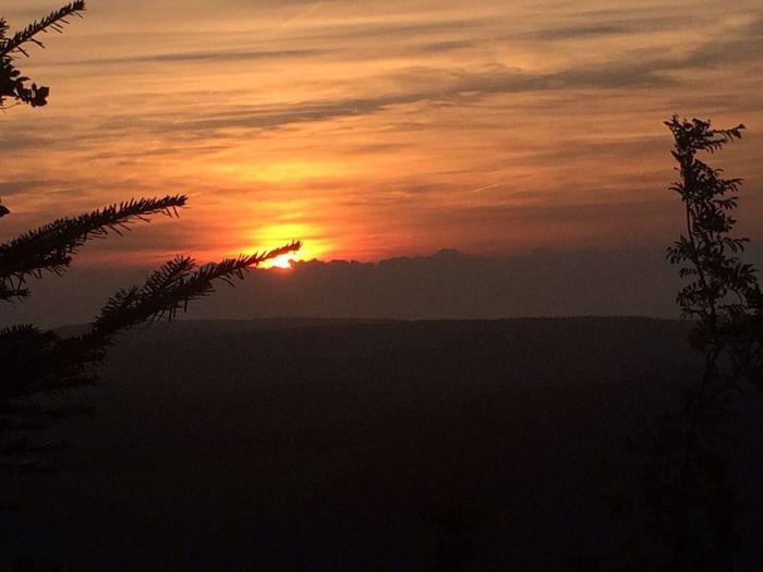 Sonnenuntergang im erzgebirge First Eyeem Photo