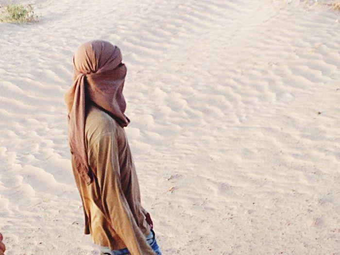 Tunisia People Traveling .Douz. Sahara.Tunisie