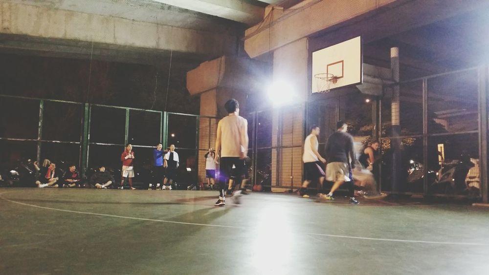 Playing Basketball Excercising 20150207