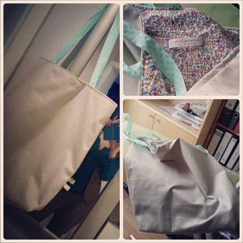 Big Bag Tasche Gen äht DIY Kreativ bag citybag love
