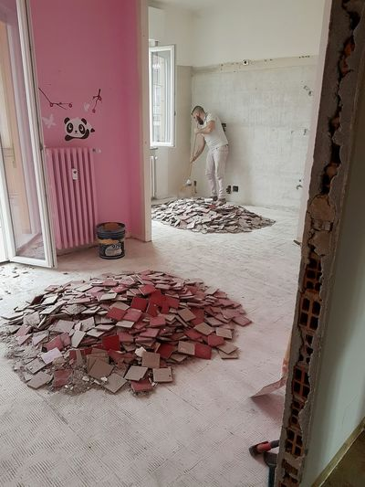 Home Interior Indoors  House Home Improvement Day Architecture Renovate House More Space Rubble Abatement Walls Renovation Home Refurbishing Building Interior Architecture Construction Construction Site Construction Company Down Walls Demolition Walls Home Renovation  Home Improvement Total Renovation