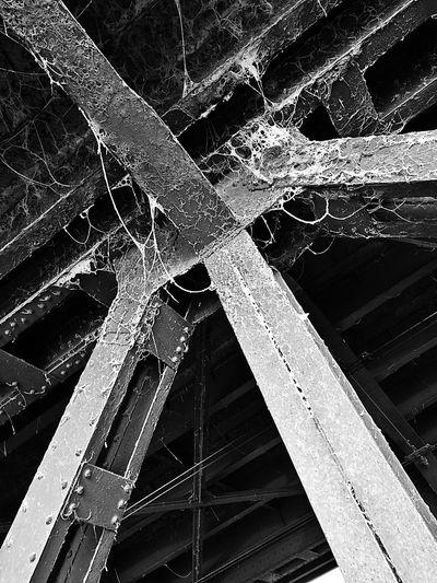 No People Architecture Spider's Web Bridge Pillar Horrific Fear Darkness Smartphone Photos Smartphone Photography Smartphonephotography Structure