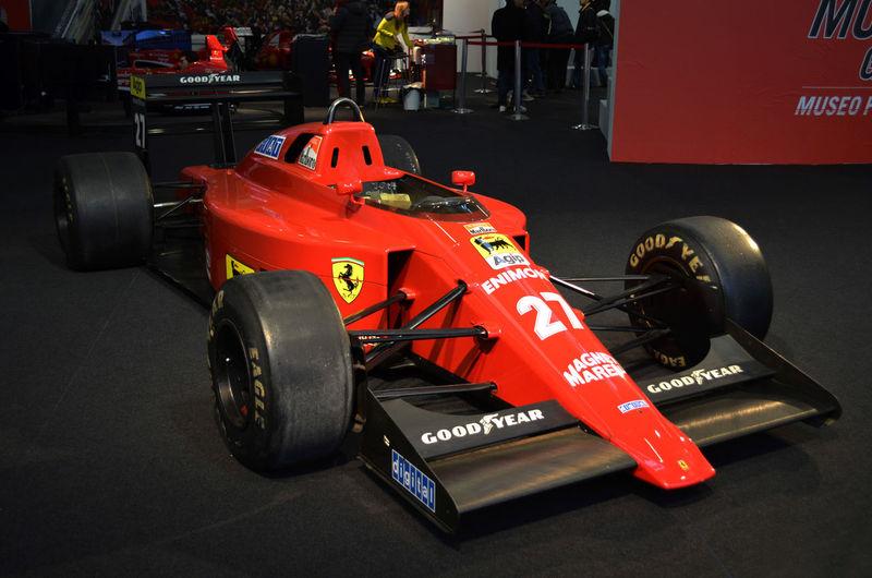 27 Bologna Car Day F1 Ferrari Mansell Motor Race Red Show