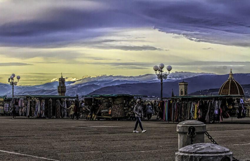 Architecture Sky Cloud - Sky Colors people and places Florence Italy Florence Cathedral Outdoors