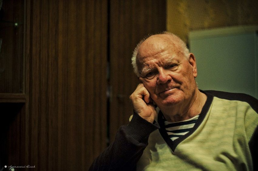 Old Man Grandad Portrait Photography