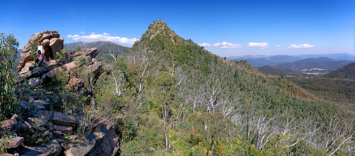 Cathedral Ranges National Park Victoria Sugarloaf Peak Mountain Scenics - Nature Sky Beauty In Nature Non-urban Scene Mountain Range Day Environment Rock - Object Activity Outdoors Mountain Peak Formation Hiking Sport Rock Climbing Horizon Blue Sky