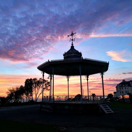 Sunset Travel Dramatic Sky Architecture Tourism Sky Architectural Column Travel Destinations Outdoors Ancient City No People Business Finance And Industry Built Structure Old-fashioned Pavilion Dome Beauty In Nature City Gate Day Band Stand