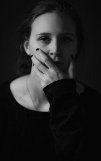 Leftbehind Blackandwhite Portrait Emotions