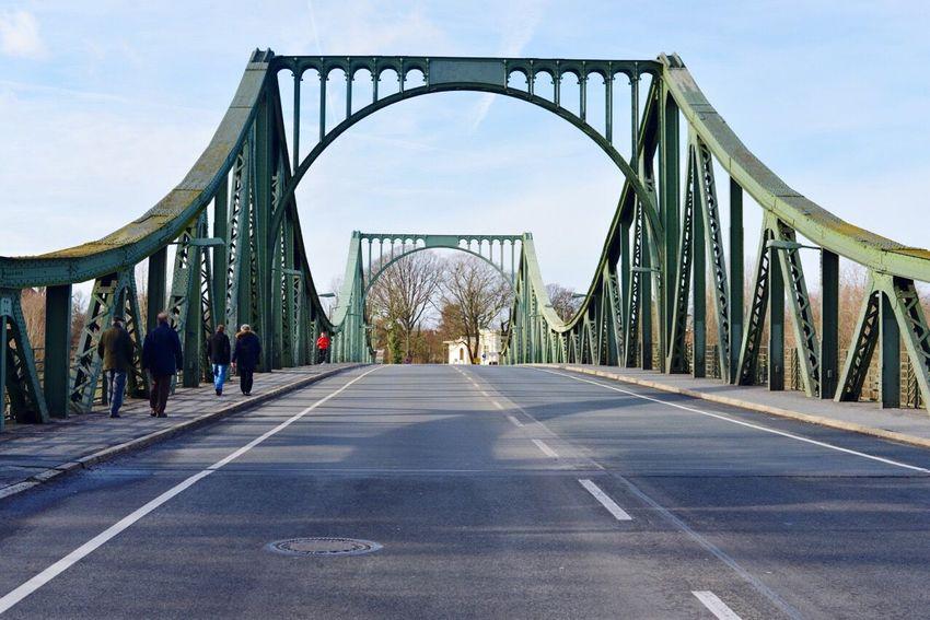 Bridge Built Structure Berlin Potsdam Brücke Glienicker Brücke Bridges Bridgeofspies Sunny Day Sunny Coldwar History Historical Monuments Historical Historical Place