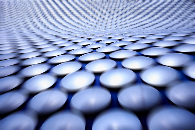 Circle invasion . Selfridges Birmingham .UK . Backgrounds Blue Pattern Full Frame No People Selective Focus Close-up Indoors  Repetition Large Group Of Objects Textured  Shape Technology Design Still Life Abundance Metal In A Row Pill Geometric Shape Selfridges Selfridges & Co Selfridgesbirmingham Architecture Architecture_collection Circles In Circles Circles Pattern, Texture, Shape And Form Blurred Motion My Best Photo British Culture