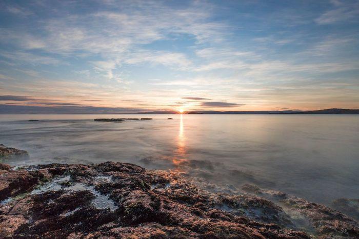EyeEm Selects Sunset Landscape Reflection Horizon Over Water EyeEmBestPics EyeEm Best Shots EyeEm Best Shots - Nature EyeEmSelect Freycinet National Park Colesbay TasmaniaAustralia Tasmania Tasmanian Landscape Travel Destinations Nature