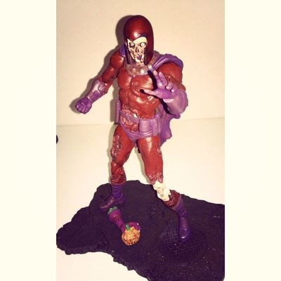 here he is out packaging and all posed up! now magneto his thriller on! great figure cant emphasize how much i love this figure was differently worth the price and wait. Marvelvillans Magneto Xmen Zombies  Marvelzombie Marvelselect Magnetomonday Lovethisfigure Fuckingawsome Figurecollecting Geekingout Lovingit SoAwsome Greatday