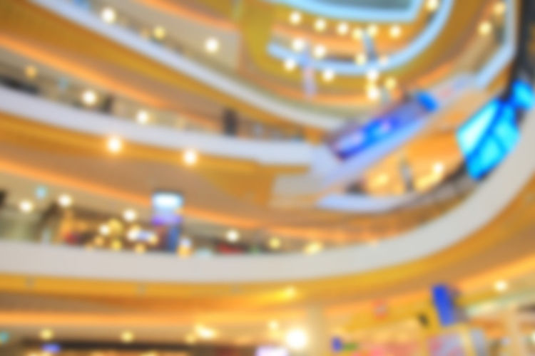 blurred photo shopping mall, bokeh background Background; Blur; Blurred; Bokeh; Business; Buy; Buyer; Choice; Closeup; Colorful; Commerce; Concept; Consumer; Consumerism; Convenience; Corridor; Customer; Elevator; Escalator; Family; Grocery; Ground; High; Hypermarket; Indoor; Interior; Lifestyle; Lif Close-up Day Glowing Illuminated Indoors  Lighting Equipment No People