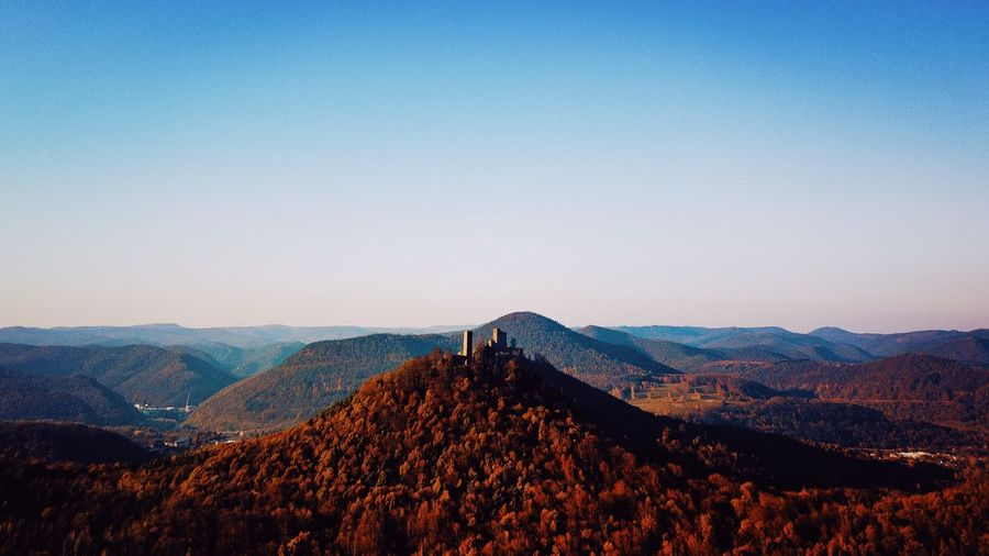 Palatinate Forest 🌳 The Great Outdoors The Week on EyeEm EyeEm Best Shots Autumn Pfälzer Wald Sky Real People Nature Beauty In Nature Scenics - Nature Mountain Leisure Activity Outdoors Environment Landscape Land Day