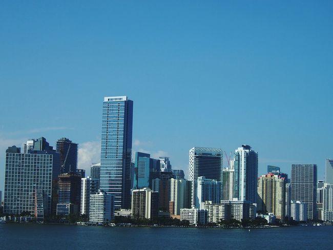 Miami Downtown Miami Florida Buildings Highrises Highrisebuilding Bayside Spring Downtown