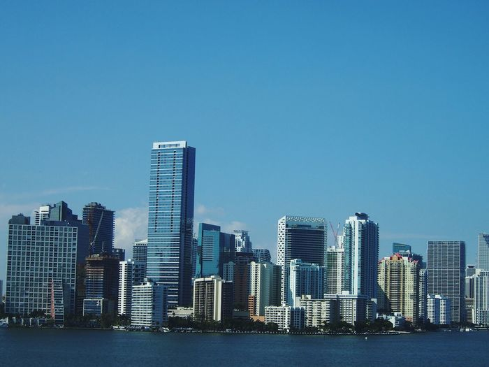 Miami Downtown Miami Florida Buildings Highrises Highrisebuilding Bayside Spring Downtown