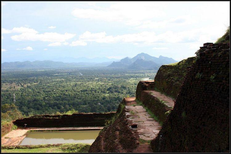 Sri Lanka Lion Rock