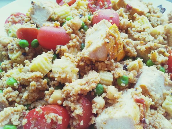 Chicken Cous Cous Dinner Healthy Food